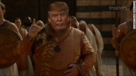 Watch Donald Trump's 'cameo' in 'Game of Thrones'