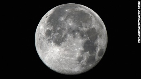 Full moon may disrupt sleep, study says