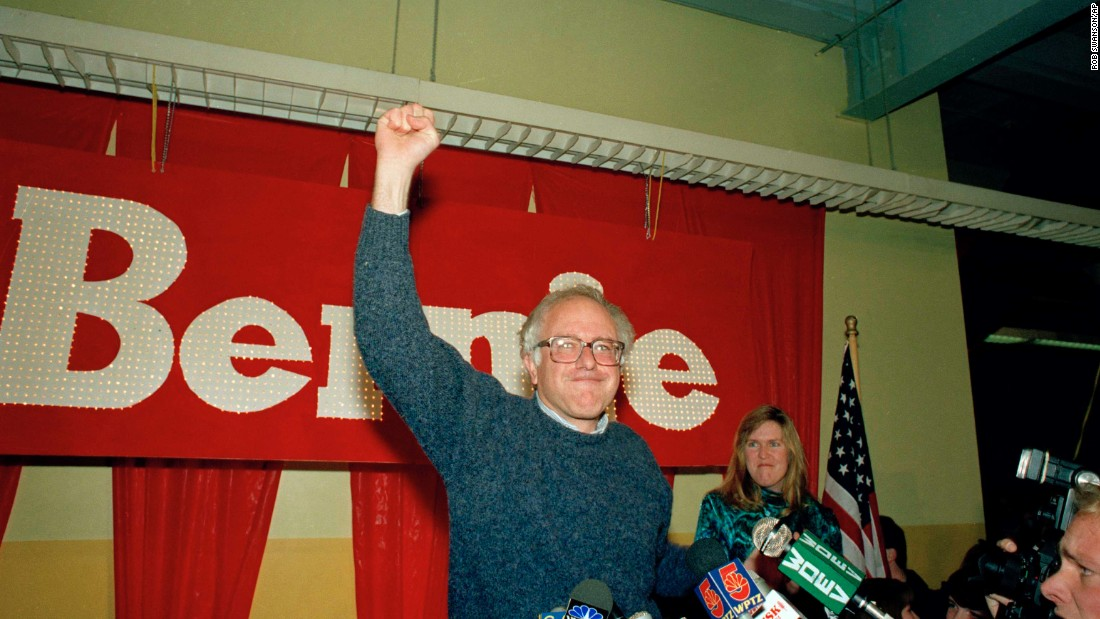 In 1990, Sanders defeated U.S. Rep. Peter Smith in the race for Vermont's lone House seat. He won by 16 percentage points.