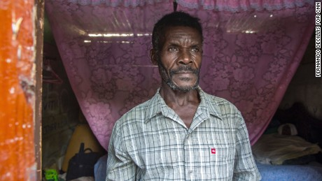 Bernard Teillon is an undocumented Haitian immigrant who has lived in the Dominican Republic for decades.