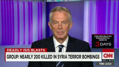 Tony Blair: Terrorists not always poor, often well-educated
