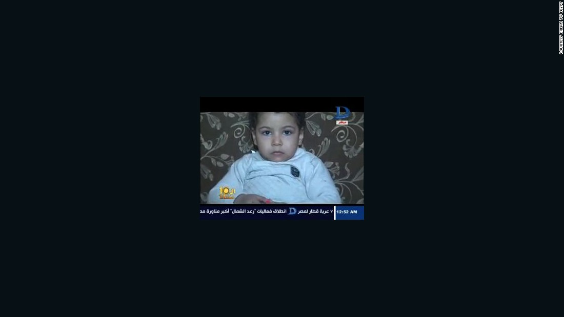 Egypt: Officials claim mistaken identity after toddler sentenced to life