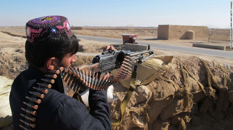 Afghan troops pull out of Helmand districts
