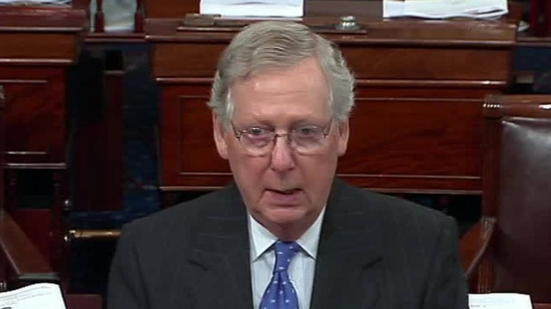 McConnell: Senate won't consent on nominee