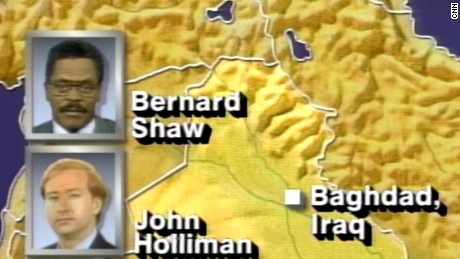 The Gulf War put CNN on the map as being the only network to offer 24/7 live coverage of events unfolding from the ground.