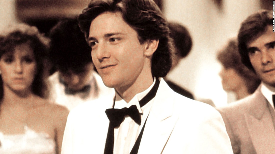 "Andrew McCarthy's preppy, BMW-driving Blane is the focus of Andie's affections in ""Pretty in Pink."" Their difference in circumstance is a complication in the high school hierarchy."