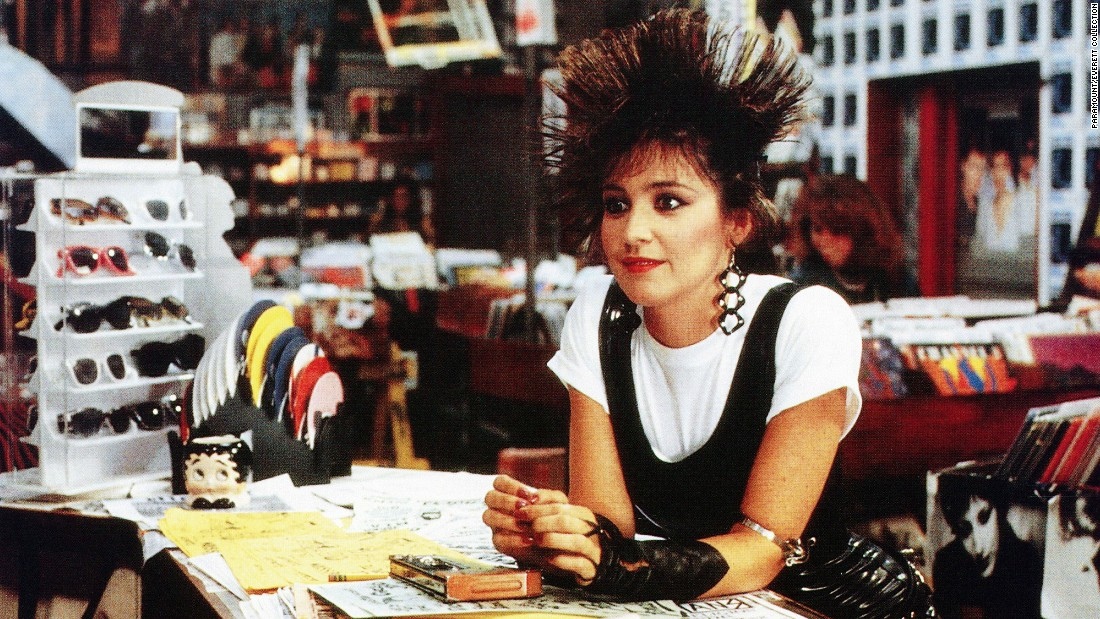 Andie's free-spirited confidante Iona, played by Annie Potts, takes '80s fashion -- and hair -- to dizzying heights.