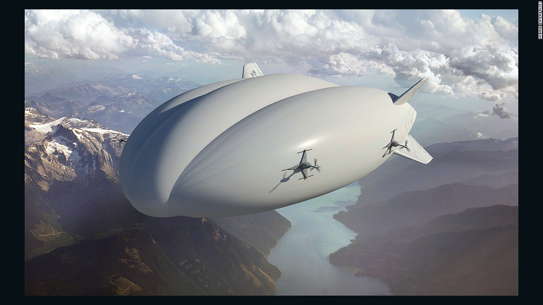 The Hybrid Airship from Lockheed Martin and Hybrid Enterprises is the product of 20 years of development. It can travel thousands of kilometers in a single journey, at speeds of up to 60 knots, the company says.