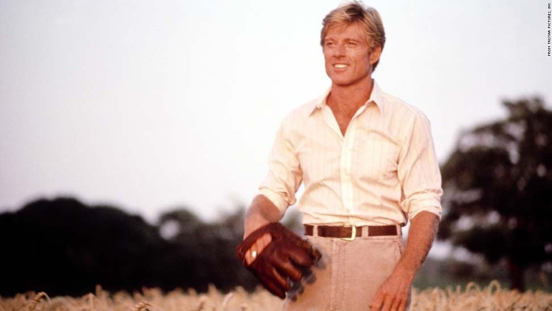 "<strong>'The Natural': </strong>Also released in 1984, ""The Natural"" stars Robert Redford as Roy Hobbs, a late-blooming baseball phenom who thrills fans with a bat named ""Wonderboy"" and his seemingly divine powers on the diamond. Directed by Barry Levinson, the movie's many artfully shot scenes include a dramatic slow motion home run when Hobbs hits the ball into the lights. And what a cast! Kim Basinger, Robert Duvall, Barbara Hershey and Glenn Close."