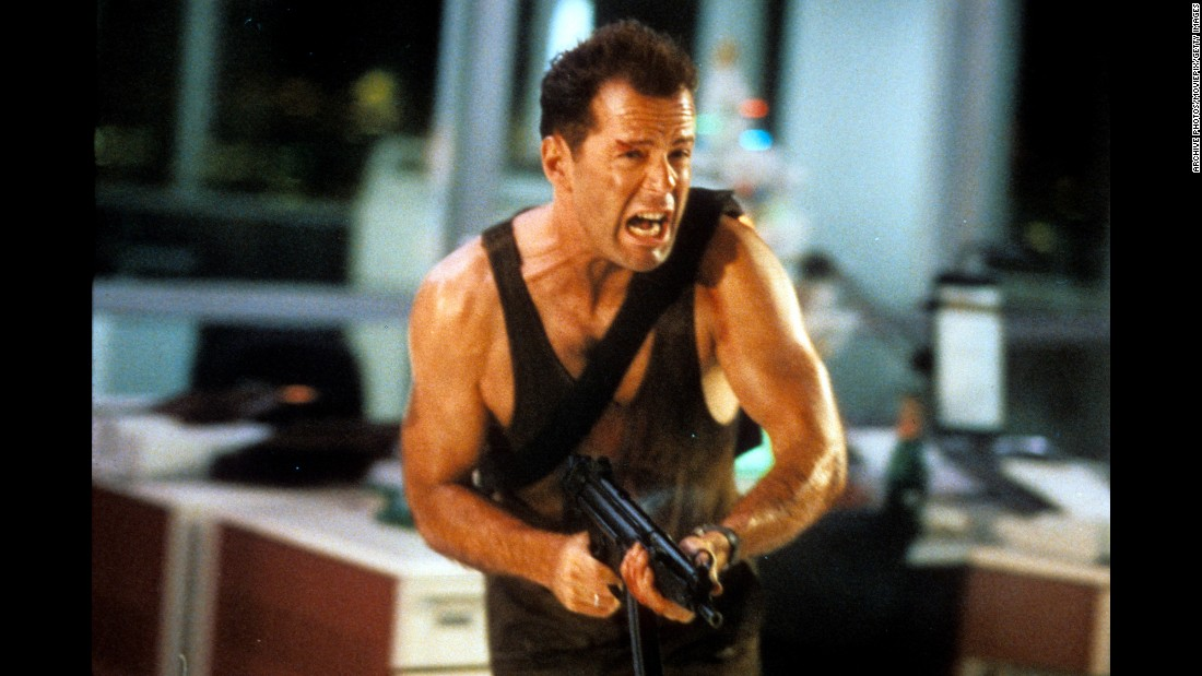 "<strong>""Die Hard"":</strong> Yippie-ki-yay! Bruce Willis' ""Die Hard"" franchise was hailed by more than one collegiate film program for actor Alan Rickman (who passed away earlier this year).  The first ""Die Hard"" film tells the story -- as if it matters -- of NYPD officer John McClane who in the course of attending a company function with his wife in Los Angeles has to save everyone from German terrorists including Rickman in a career-defining role. Think reality-defying brushes with bombs, guns and gravity. The key to the 1988 movie is the unlikely and life-saving rapport that develops between McClane and a local beat cop played by Reginald VelJohnson. VelJohnson would later play the father on TV's ""Family Matters,"" the sit-com that introduced us to ""Urkel.""<br />"