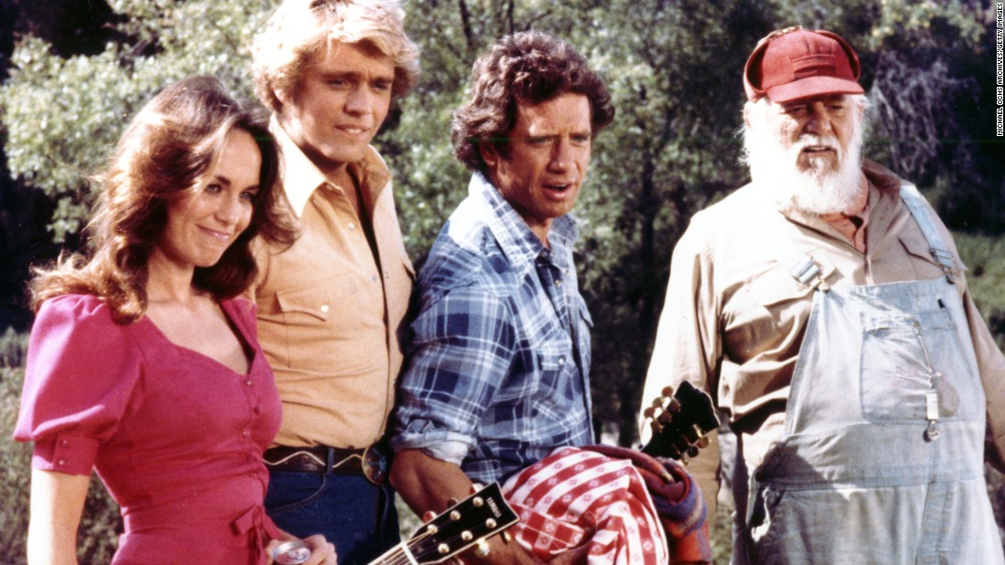 <strong>'The Dukes of Hazzard':</strong> A sitcom that gave birth to Daisy Duke shorts and colorful names such as Enos Strate, Boss Hogg and Cooter Davenport can't be all bad, right? From 1979-1985, CBS brought America the adventures of cousins Bo and Luke Duke, played by John Schneider and Tom Wopat. These guys liked to drive around in a car named the General Lee, a 1969 Dodge Charger painted with a Confederate flag on top. The Duke boys were joined by their cousin Daisy and Uncle Jesse (Catherine Bach and Denver Pyle).