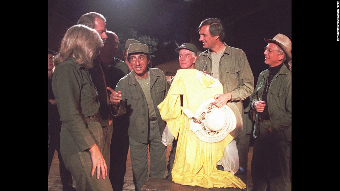"<strong>'M*A*S*H':</strong> This CBS comedy centered on a mobile Army hospital during the Korean War, and fans held viewing parties to watch its final episode on February 28, 1983. In its 11 years, ""M*A*S*H"" had gained such a loyal following that about 106 million people watched the finale, making it the largest single TV audience before the domination of cable programming."