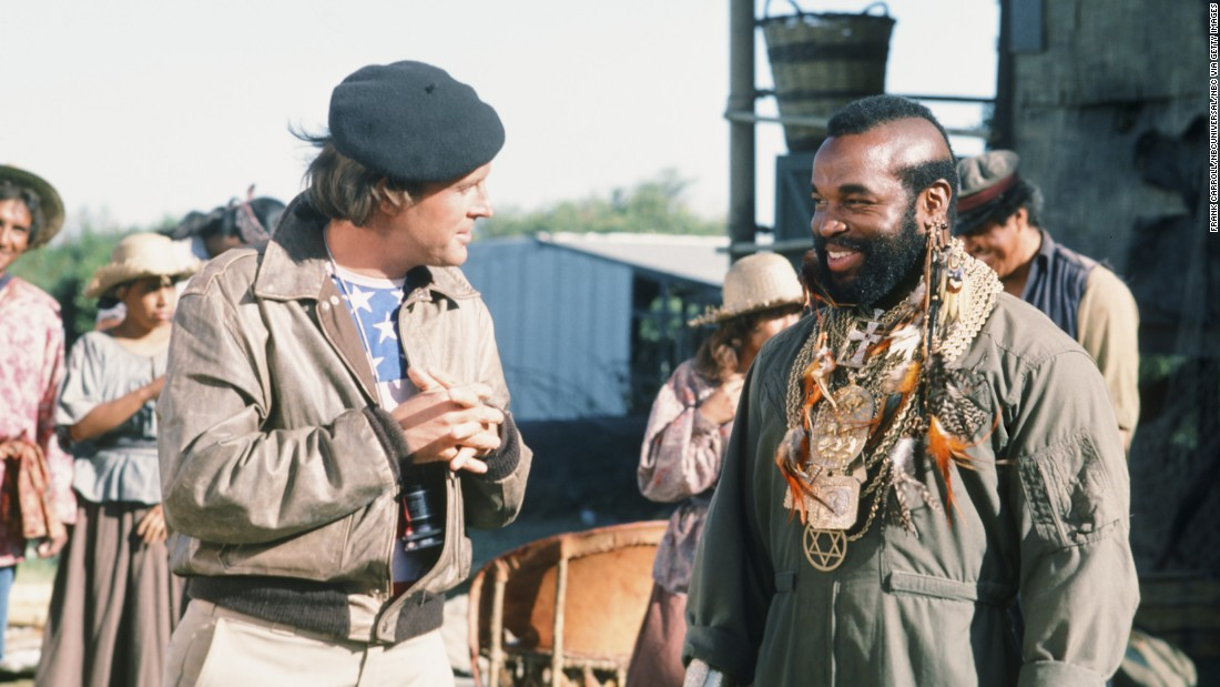 "<strong>'The A-Team':</strong> In this NBC action series about a former Army unit for hire, '80s icon Mr. T, right, played Sgt. Bosco ""Bad Attitude"" (B.A.) Baracus. The show, which aired from 1983-1987, also starred Dwight Schultz, left, who played the A-Team's skilled pilot, Capt. H.M. ""Howling Mad"" Murdock. The show peaked in the Nielsen ratings at No. 4 during the 1983-1984 season. In 2010, series co-creator Stephen J. Cannell eventually produced an ""A-Team"" movie."