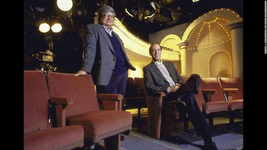 "<strong>'Siskel & Ebert & the Movies':</strong> These were the film critics who coined the phrase ""two thumbs up."" But Gene Siskel, right, and Roger Ebert contributed so much more than that to American culture. From 1986-1999, their nationally syndicated show reviewed each week's major new releases. When they disagreed, their passion showed through and they could really go at it -- turning their on-camera movie debates into some pretty entertaining TV."