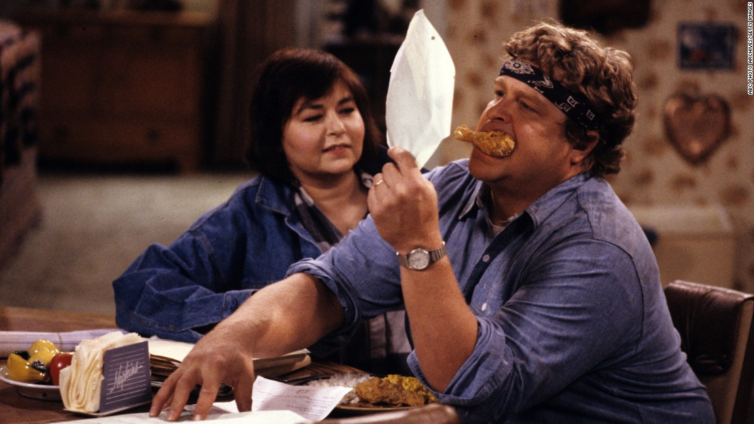 """Roseanne"" has been called ""groundbreaking,"" ""unflinching"" and ""among the 50 greatest TV shows of all time."" From 1988-1997, Roseanne Barr and John Goodman led a cast of this ABC sitcom that took on difficult issues such as teen marriage, abortion, birth control, parental abuse and unemployment. Click through to see some other influential shows from the 1980s."