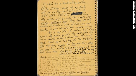 Octavia Butler journaled her goals obsessively, as if to will them into existence.