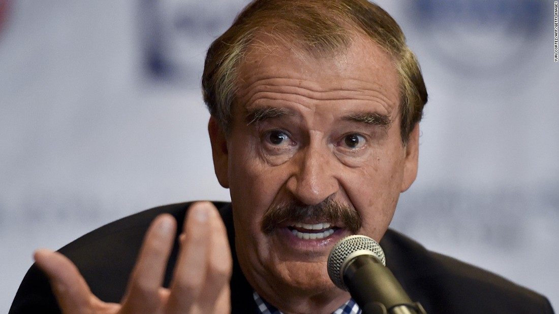 Former Mexican President apologizes for Trump invitation