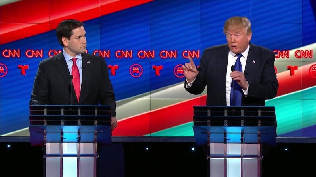Republican debate: Marco Rubio finds his fire
