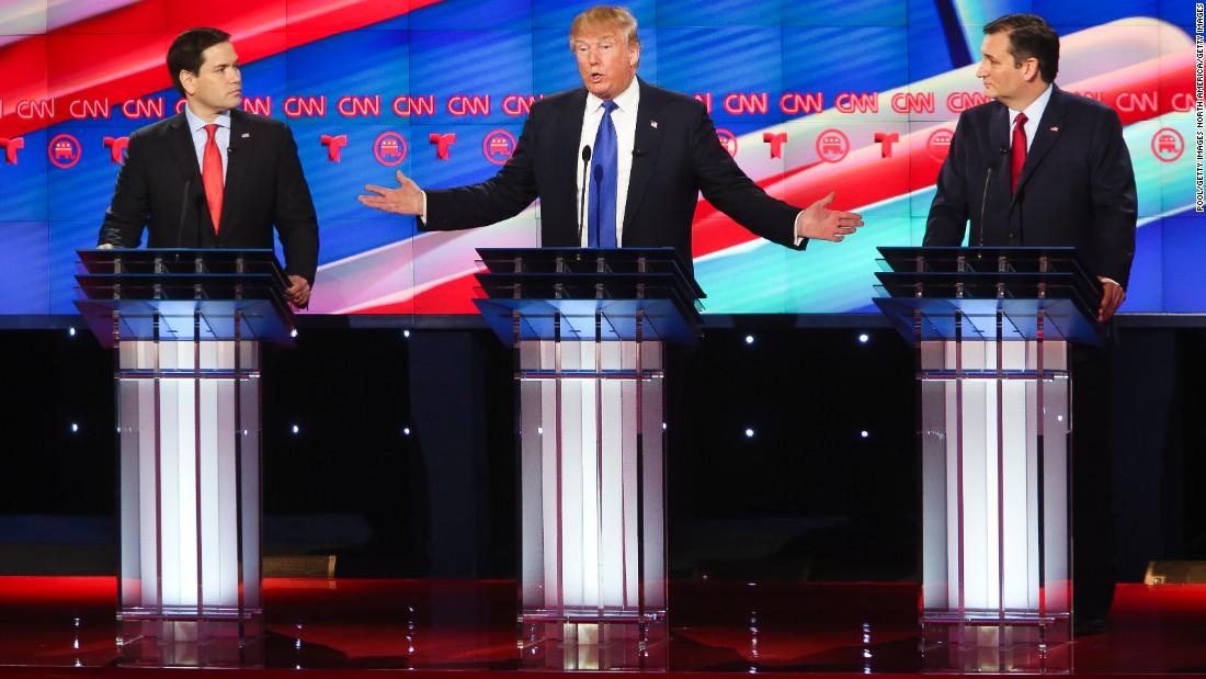 CNN Republican debate in GIFs - CNNPolitics