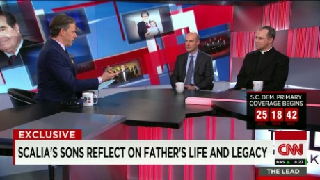 scotus justice scalia's sons reflect on father's life and legacy lead intv_00004817