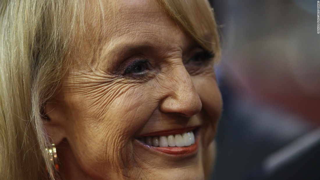 Jan Brewer: Allegiance of some anti-Trump protesters is to Mexico, not US
