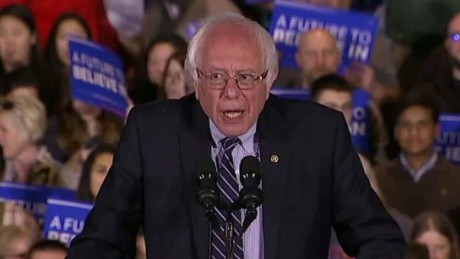 Bernie Sanders: 'Democracy is not a spectator sport'
