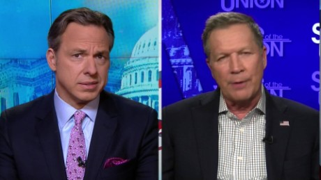 SOTU Tapper: Kasich Trump will probably win all Super Tuesday_00005722