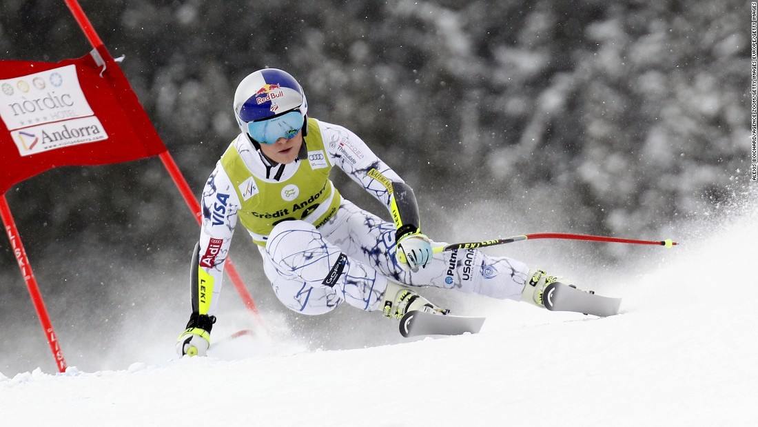Lindsey Vonn defies the odds to extend World Cup lead in Andorra
