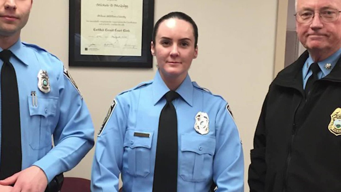 Virginia police officer killed on her first day on the job; man charged