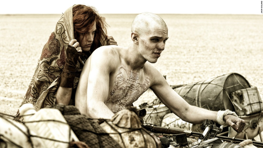 "<strong>Best makeup and hairstyling: </strong>""Mad Max: Fury Road"" (Lesley Vanderwalt, Elka Wardega and Damian Martin)"