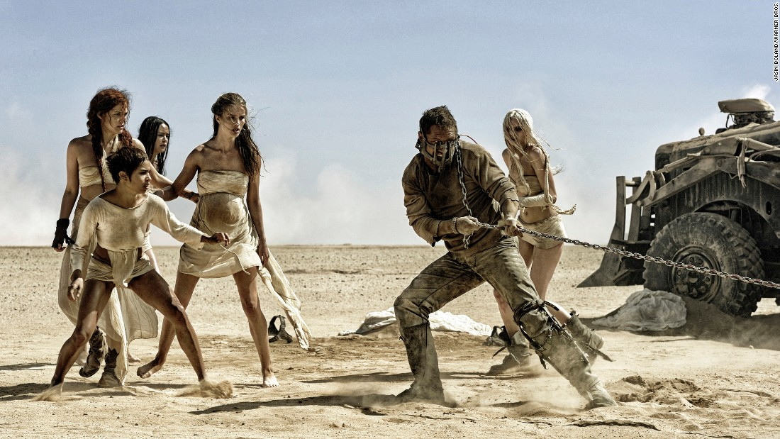 "<strong>Best film editing: </strong>""Mad Max: Fury Road"" (Margaret Sixel)"