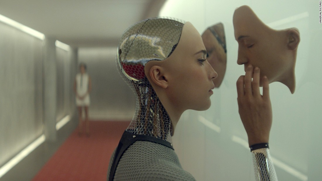 "<strong>Best visual effects:</strong> ""Ex Machina"" (Andrew Whitehurst, Paul Norris, Mark Ardington and Sara Bennett)"