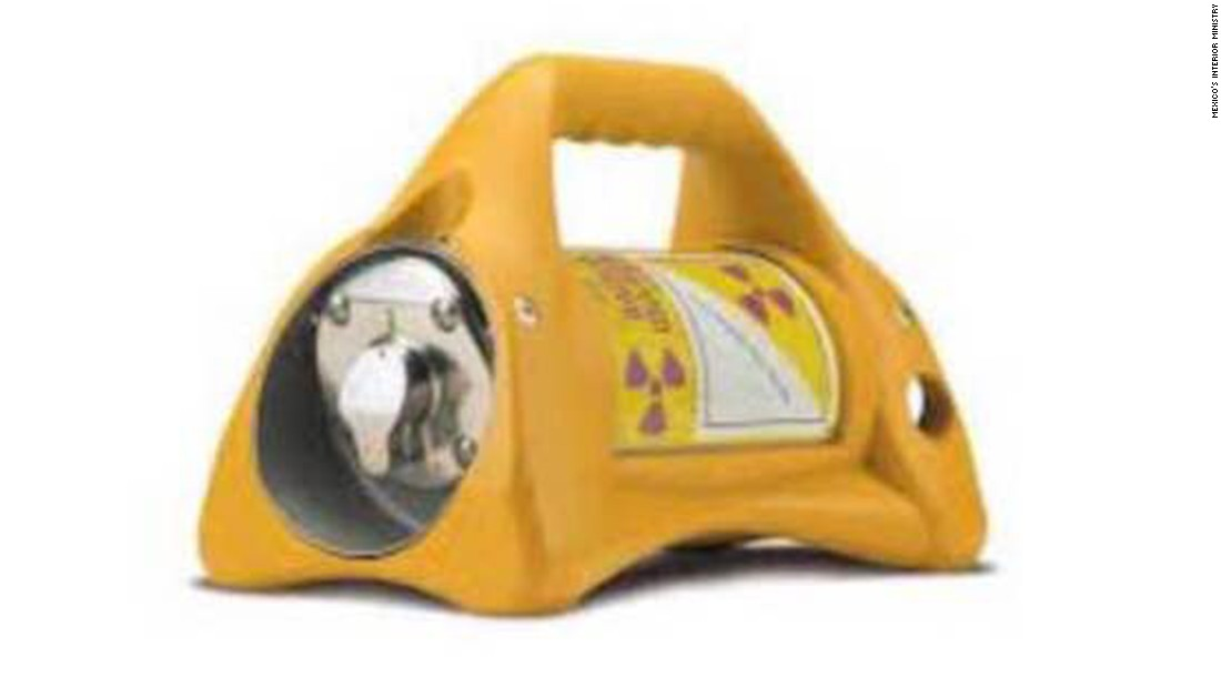 Stolen radioactive material found in Mexico