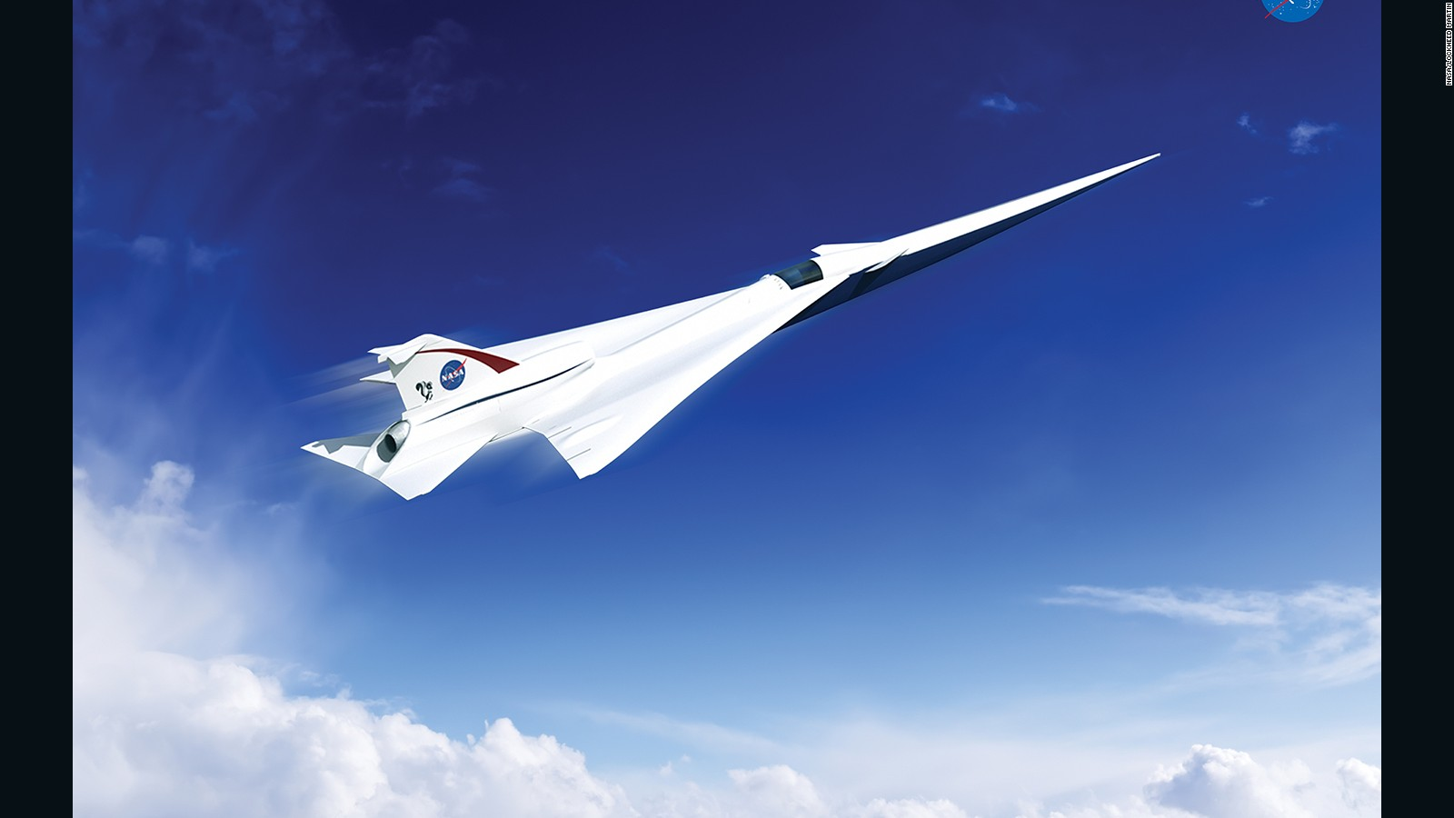 Whats Happened To The Supersonic Airplane Revolution CNN Travel - Examples future planes look according nasa