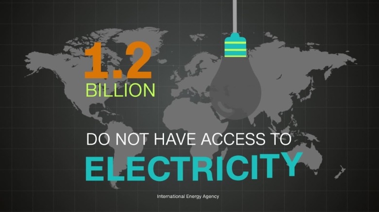 Access to electricity across Africa is rising