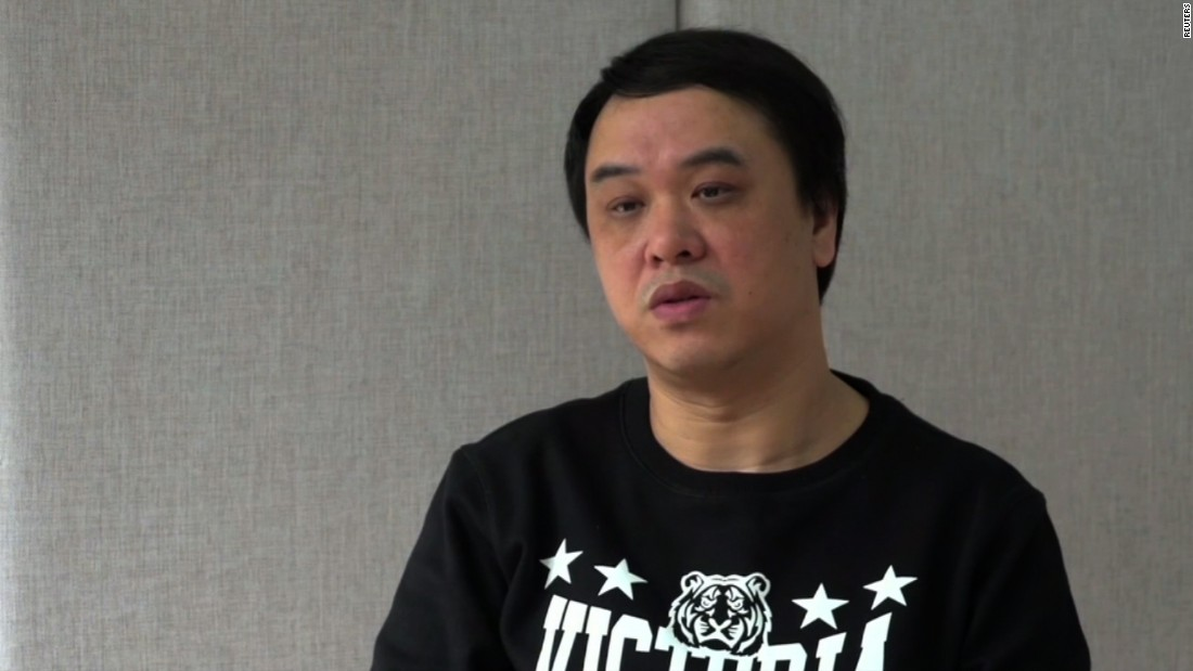 "Lui Por is the general manager of Mighty Current. Like the others, he confessed to ""illegal book trading"" in the televised interview. It's not clear whether they were speaking under duress.  Hong Kong police said Lui returned to Hong Kong March 4."