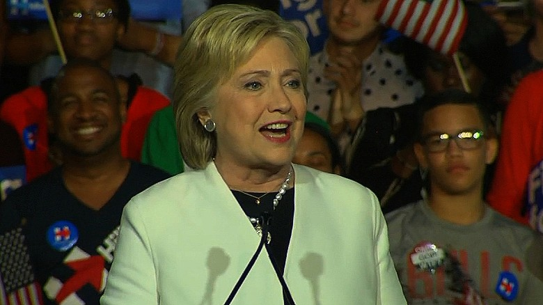 Hillary Clinton's entire Super Tuesday speech