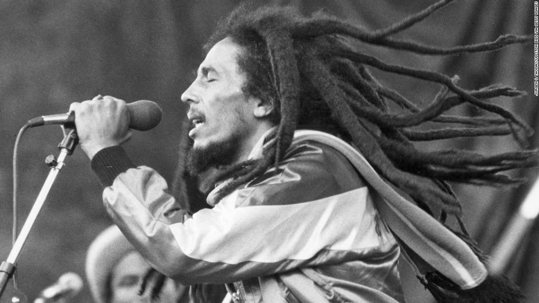 "<strong>Bob Marley's death:</strong> After a four-year battle with skin cancer that started on his toe and spread to his vital organs, legendary Jamaican musician <a href=""http://www.theguardian.com/theguardian/1981/may/12/fromthearchive"" target=""_blank"">Bob Marley died</a> on May 11, 1981. He was 36 years old."