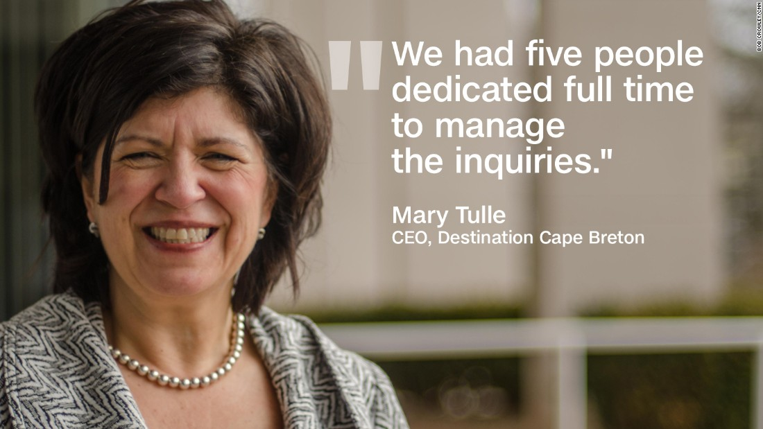 cape breton quote graphic Mary Tulle