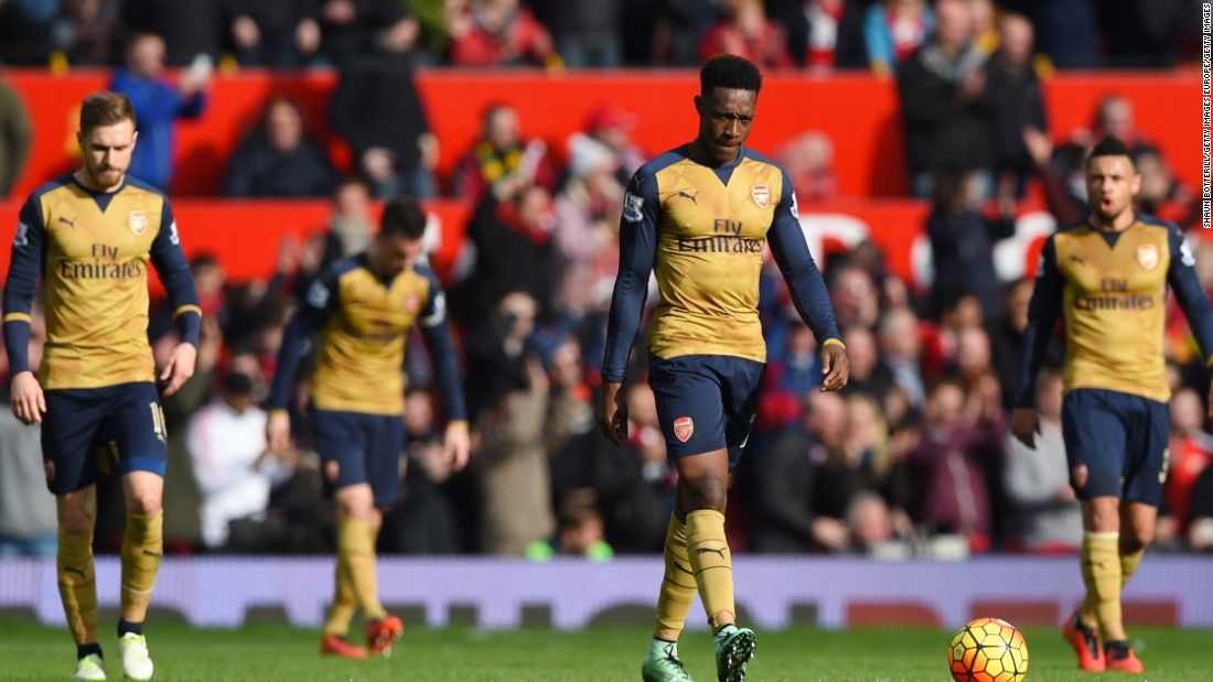 Arsenal fell behind early in the first half at Old Trafford last Sunday and was beaten by a young, largely inexperienced Manchester United side.