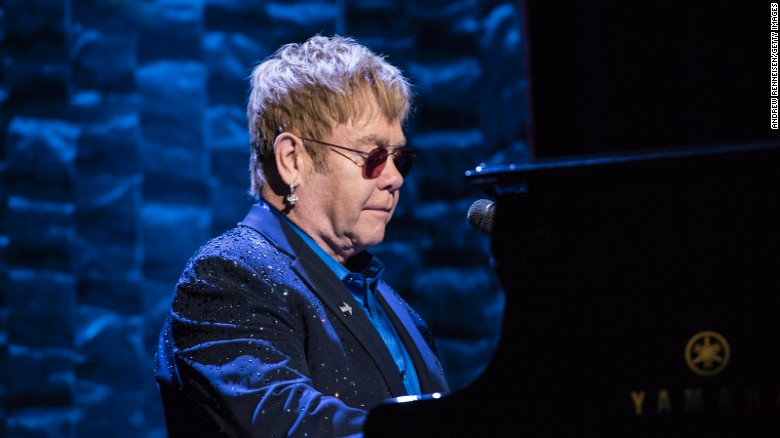 Elton John sued for sexual harassment