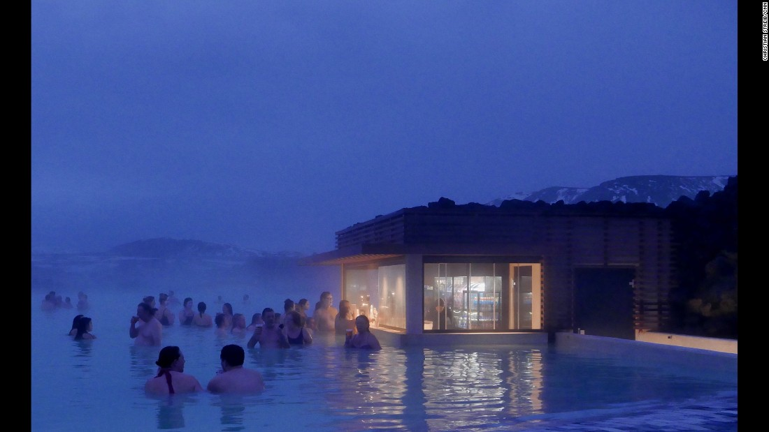 "ICELAND: Located in a lava field, the Blue Lagoon geothermal spa is one of the most visited attractions in Iceland. Photo by CNN's Christian Streib <a href=""http://instagram.com/christianstreibcnn"" target=""_blank"">@christianstreibcnn</a>."