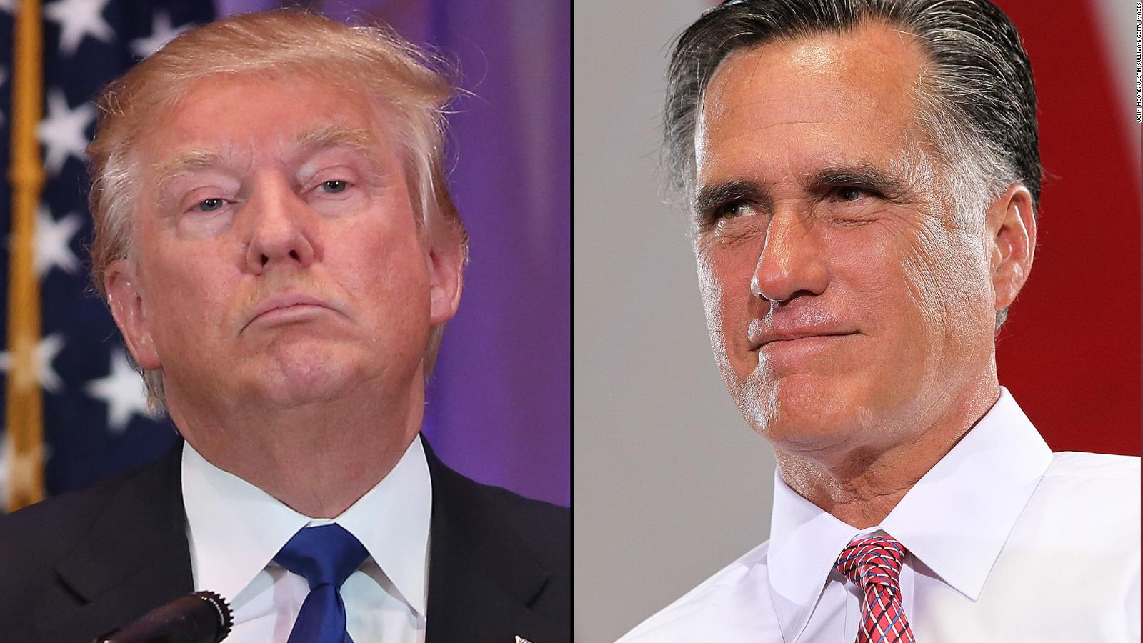 Donald Trump-Mitt Romney meeting another wild 2016 twist - CNNPolitics