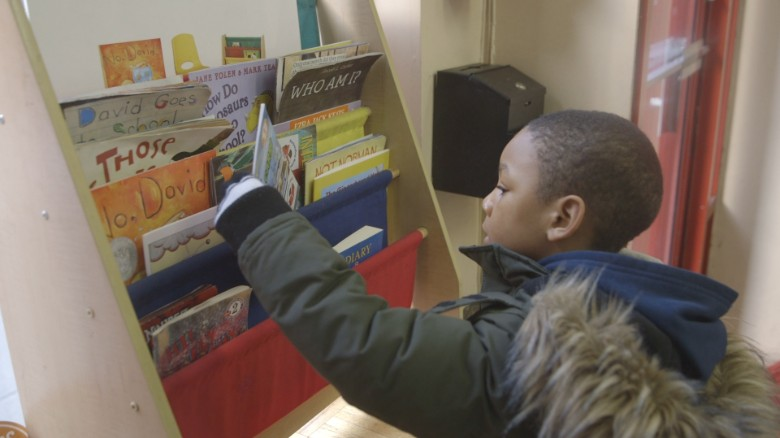 Barbershop Books places books in boys' hands