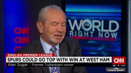 exp CNN World Sport Lord Alan Sugar_00002001