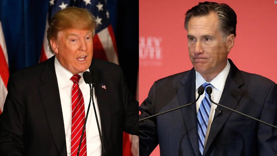 Romney implores: Bring down Trump