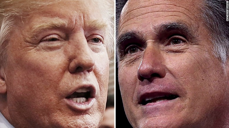 Trump and Romney set to meet this weekend