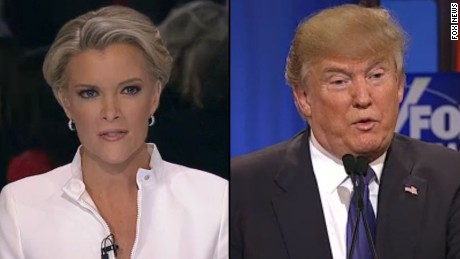 Megyn Kelly confronts Trump on his 'bimbo' tweets