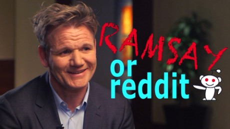 Ramsay laughs at the internet buzz around his quotes
