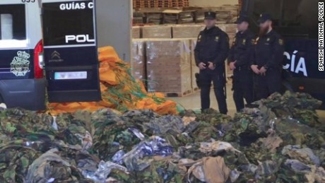 Spain seizes ISIS, al-Nusra equipment